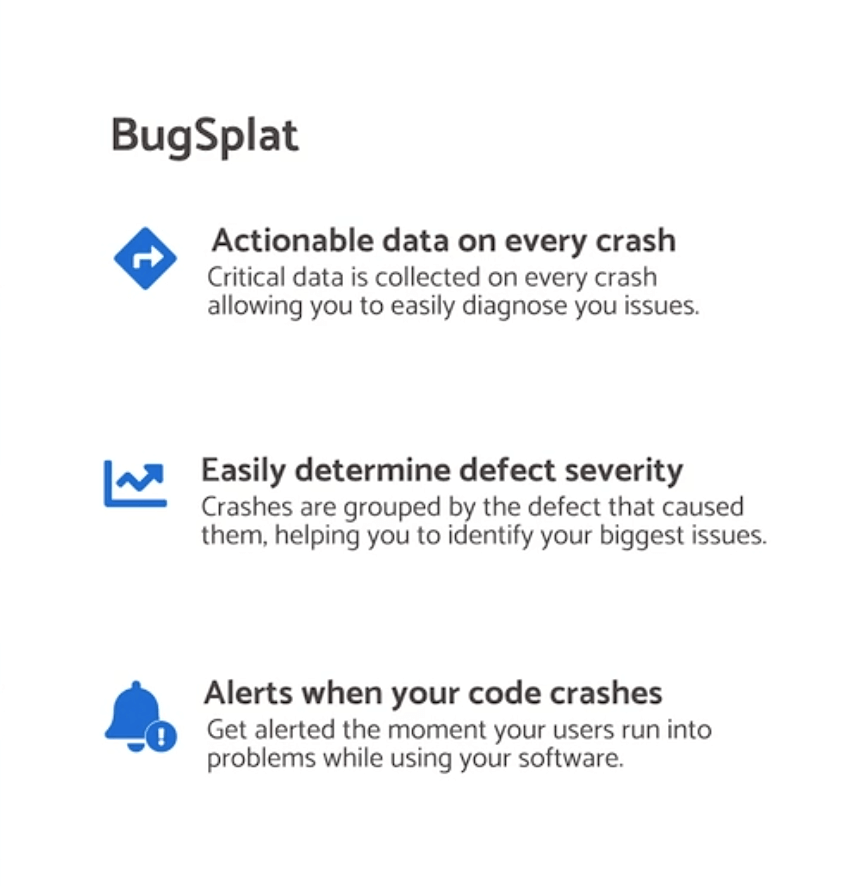 Benefits of BugSplat